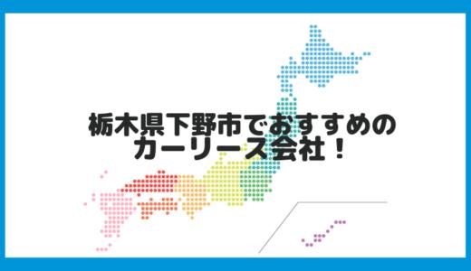 栃木県下野市でおすすめのカーリース会社!